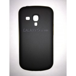 Samsung Galaxy S3 mini - Black rear battery cover with aluminum frame
