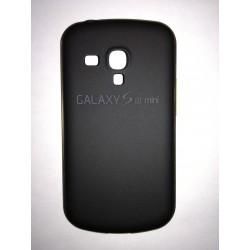 Samsung Galaxy S3 mini - Černý zadní hliníkový kryt baterie s rámečkem