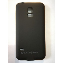 Samsung Galaxy S5 mini - Černý zadní kryt baterie s hliníkovým rámečkem