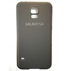 Samsung Galaxy S5 - Black tylną pokrywę baterii z ramą aluminiową