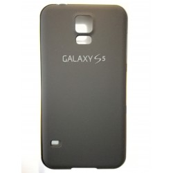 Samsung Galaxy S5 - Černý zadní kryt baterie s hliníkovým rámečkem