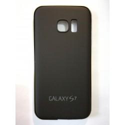 Samsung Galaxy S7 - Černý zadní hliníkový kryt baterie s rámečkem