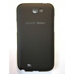 Samsung Galaxy Note 2 - Černý zadní kryt baterie s hliníkovým rámečkem