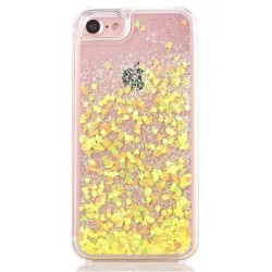 Apple iPhone 5 5G 5S - Sand osłona tylna - Żółty