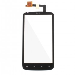 HTC Sensation G14 Z710i - Čierna dotyková vrstva, dotykové sklo, dotyková doska