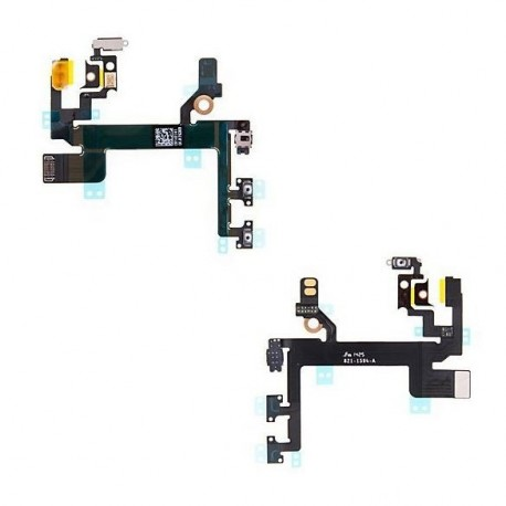 Flex cable with Mute switch + volume control + Power switch for Apple iPhone 5S