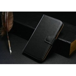 Samsung Galaxy Note 3 N9000 - Wallet Case - Black Leather