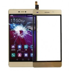 Huawei Ascend P8 Lite 2015 - Gold touch pad, touch glass, touch plate + flex
