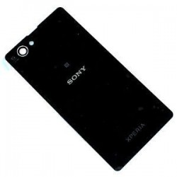 Sony Xperia Z1 Compact Rear Cover - Black