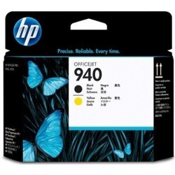HP C4900A tisková hlava HP 940 Černá / Žlutá - kompatibilní