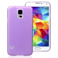 Samsung Galaxy S5 i9600 - Gelový zadní kryt baterie, Barva: Fialová