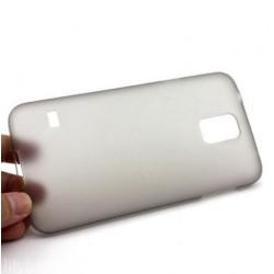 Samsung Galaxy S5 i9600 - Plastový matný zadní kryt baterie - průhledný