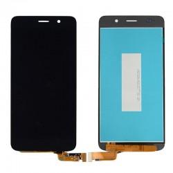 Huawei Honor 4A Y6 SCL SCL-L01-L21-L04 SCL - Czarny LCD warstwa kontaktowa + szkło kontaktowe, płytka stykowa