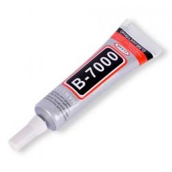 B-7000 pružné lepidlo založené na silikonové bázi. Vysoká adheze k plastovým dílům. Zaručená pružnost i po zatuhnutí lepidla.