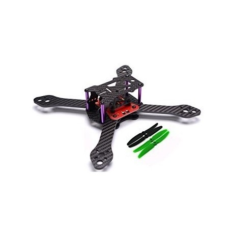 Reptile Martian III 250mm - 4-axis carbon frame (3.5mm) + distribution board for FPV