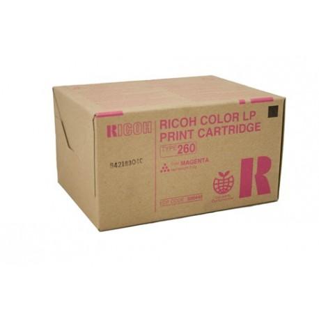 Ricoh Typ 260 888448 pro CL7200 / 7300, červený, 10000 stran - Originální toner