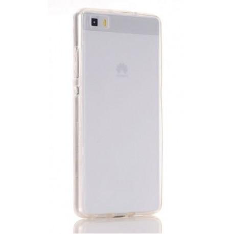 Přední a zadní silikonový kryt Huawei P8 - průhledný