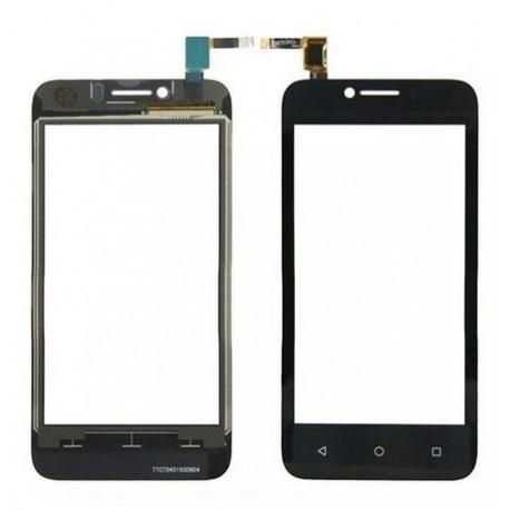 Huawei Y560 - Černá dotyková vrstva, dotykové sklo, dotyková deska + flex