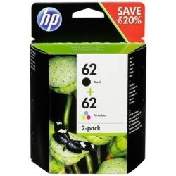 HP 62 Black + 62 Color (N9J71A) - Original Cartridge