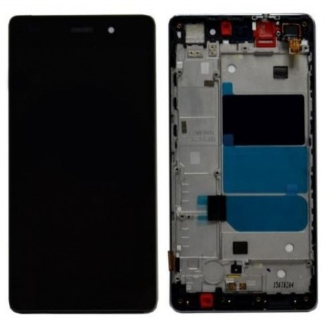 LCD screen + touch with boundary layer Huawei Ascend P8 Lite - Black