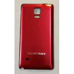 Samsung Galaxy Note 4 N9100 - Zadní kryt baterie - Hliník , Barva: Červená / černá