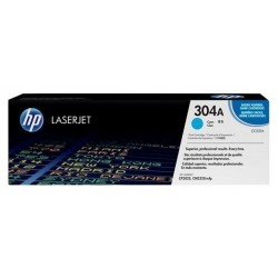 HP CC531A (304A) - blue original toner - Without a box