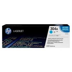 HP CC531A (304A) - Niebieski Oryginalny toner - Bez pudełka