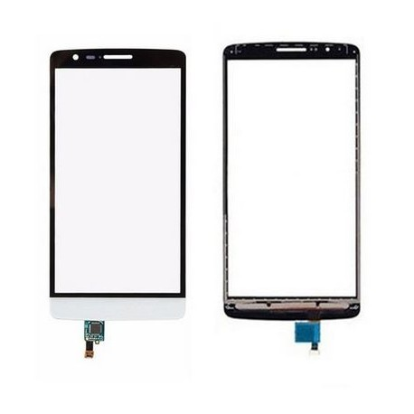LG D722 G3S G3 Mini - White touch pad, touch glass, touch plate + flex