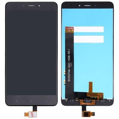 XIAOMI Redmi Note 4 - Černý LCD displej + dotyková vrstva, dotykové sklo, dotyková deska