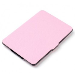 Kindle Paperwhite - light pink Case reader of books - Magnetic - PU leather - an ultra-thin hard cover