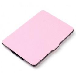 Kindle Paperwhite - světle růžové pouzdro na čtečku knih - magnetické - PU kůže - ultratenký pevný kryt