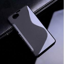Protiskluzové silikonové pouzdro pro Sony Xperia Z1 Compact - černé