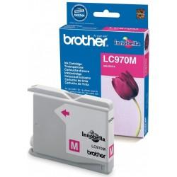 Brother LC-970M - originální cartridge, červená, 300 stran, Brother DCP-135C, DCP-150C, MFC-235C, MFC-260C