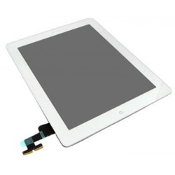Apple iPad 2 + digitizer + home button - white touch screen, touch glass touch panel