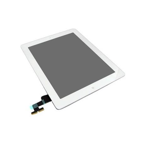 Apple iPad 2 + digitizér + home button - Bílá dotyková vrstva, dotykové sklo, dotyková deska