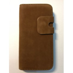 Apple iPhone 5 5S - Brown case