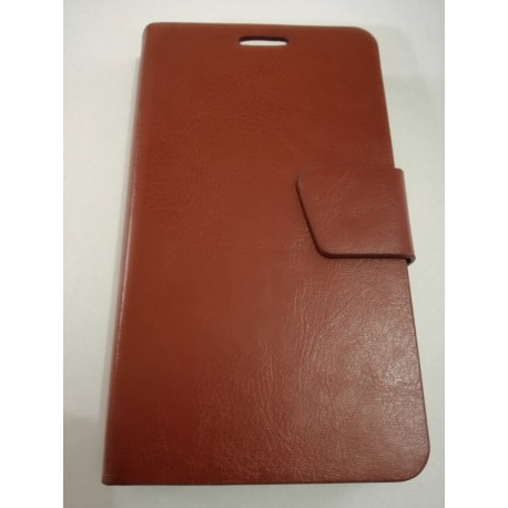 Samsung Galaxy S2 i9100 - Wallet Case - Brown Leather