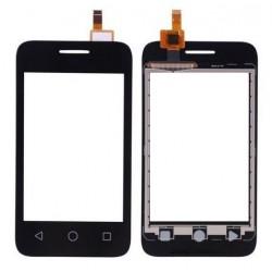Alcatel One Touch Pixi 3 OT4009 4009 4009A 4009D 4009E 4009F 4009M - Černá dotyková vrstva, dotykové sklo + flex