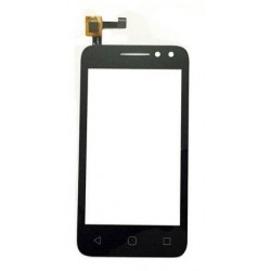 Alcatel One Touch Pixi 4 OT 4034 4034D 4034X OT4034 OT4034D 4034 - Black touch layer touch glass touch panel flex