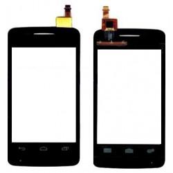 Alcatel One Touch Pixi 3 4010 4010E OT4010 - Čierna dotyková vrstva, dotykové sklo, dotyková doska + flex