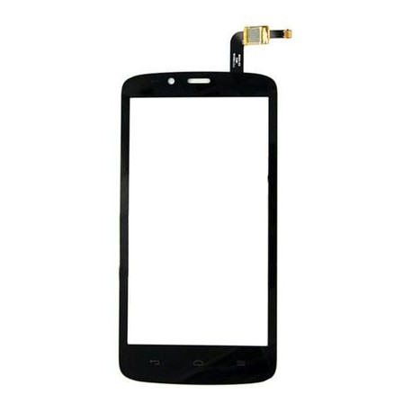 Huawei Honor Holly 3G / Honor 3C Play / Hol-U19 Hol-T00 HOL-U10 - Black touch pad, touch glass, touch plate + flex