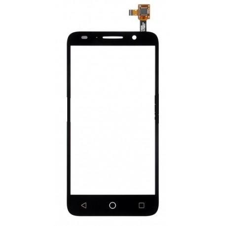 Alcatel One Touch Pixi 3 5.0 OT5015 5015 5015A 5015D 5015E 5015X - Černá dotyková vrstva, dotykové sklo, dotyková deska + flex