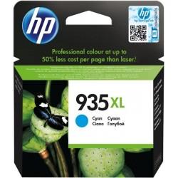 HP C2P24A - originální - Originální HP 935XL Azurová inkoustová kazeta (C2P25A), 825 stran, 9,