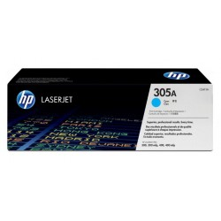 HP CE411A (305A) - blue original toner - no box