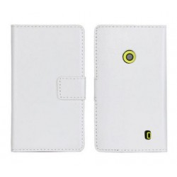 Housing Nokia Lumia 520 - whiteLeather
