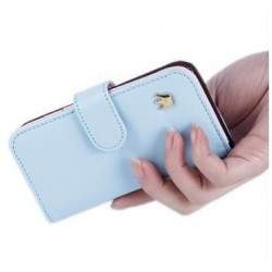 Apple iPhone 5 Light blue - svetlo modré puzdro