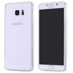 Přední a zadní silikonový kryt Samsung Galaxy A3 2017 A320F - průhledný
