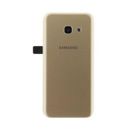 Samsung Galaxy A3 2017 A320 - battery back cover - gold