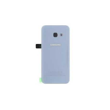 Samsung Galaxy A7 2017 A720 - battery back cover - blue