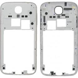 Samsung Galaxy S4 i9500 i9505 i9506 - rámeček, stříbrný střední díl, housing